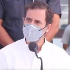 Hathras rape: 'Will bear shoves and batons, my job is to protect India,' says Rahul Gandhi