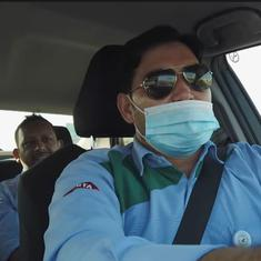 Watch: This Pakistani taxi driver in Dubai chats with his customers in ten different languages
