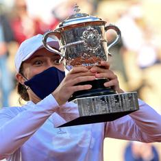 It's crazy to be in the same place as Nadal: Swiatek revels in 'life-changing' French Open triumph