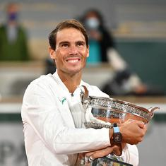 Means a lot to share this number with Federer: Nadal after record-equaling 20th Grand Slam title