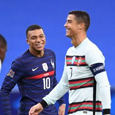 Nations League: Ronaldo's Portugal hold star-studded France to goalless draw, England beat Belgium