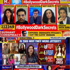 Why Big Bollywood has launched a potentially damaging battle against Times Now and Republic TV