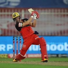 IPL 2020: AB de Villiers, bowlers set up big win for Royal Challengers Bangalore against KKR