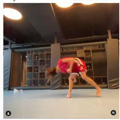 Watch: Actor Disha Patani's butterfly kick is a dramatic sight