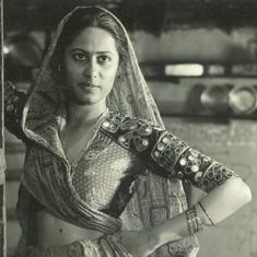 From a personal archive of Smita Patil, a reminder of her eye for beauty
