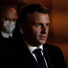 Video: French President Emmanuel Macron slapped in the face