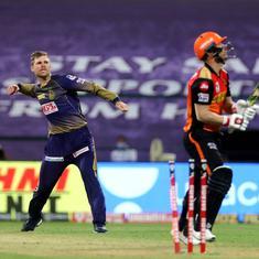Watch highlights: Lockie Ferguson stars in Kolkata Knight Riders' Super Over win over Sunrisers