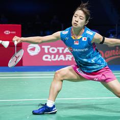 Badminton: Okuhara ends two-year trophy drought, Antonsen wins men's title at Denmark Open