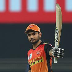 IPL 2020: Manish Pandey, Jason Holder take SRH to an easy win over RR