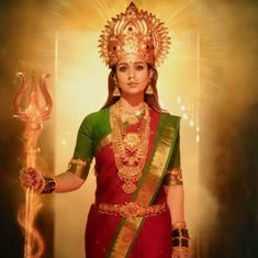 'Mookuthi Amman' trailer: The goddess descends from the heavens to expose a fake godman
