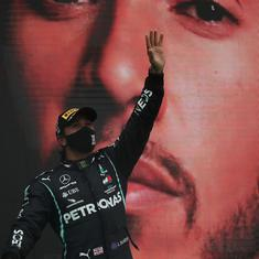 Data check: Breaking Schumacher's win record, Hamilton adds another feather to illustrious helmet