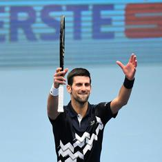Dream come true: Novak Djokovic delighted after equaling Pete Sampras' long-standing record