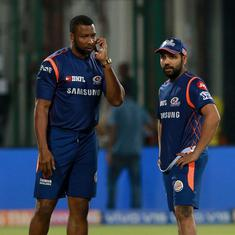 Watch: Kieron Pollard hints MI captain Rohit Sharma could be back in action soon at IPL 2020