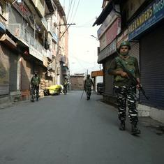 Jammu and Kashmir: PDP leader's security guard shot dead in Srinagar, say police