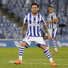 La Liga: David Silva scores first goal for Real Sociedad as go back on top of the table