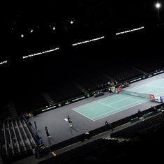 Tennis: Paris Masters underway amid France's lockdown, Russia's Karen Khacanov upset in first round