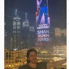 Watch: How Dubai's Burj Khalifa celebrated actor Shah Rukh Khan's birthday