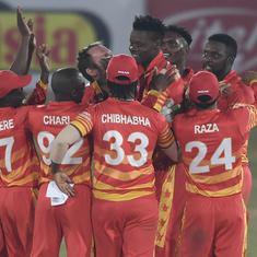 Third ODI: Blessing Muzarabani stars as Zimbabwe beat Pakistan in Super Over for rare win