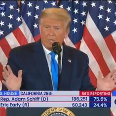 Watch: Donald Trump has threatened to go to Supreme Court, saying he wants all vote-counting to stop