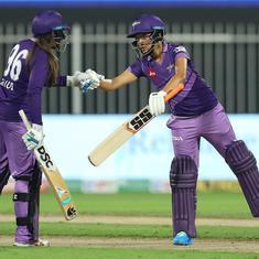 Women's T20 Challenge: A brilliant Sune Luus-Sushma Verma partnership gave Velocity an unlikely win