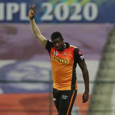 IPL 2020: SRH bowlers have used their brains along with the skills, says Jason Holder