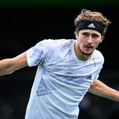 ATP Finals: Alexander Zverev battles past Diego Schwartzman to keep his title hopes alive