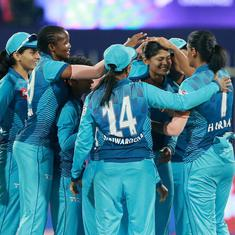 Women's T20 Challenge: Supernovas set up final with Trailblazers after thrilling last-ball win