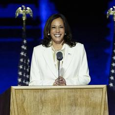 Kamala Harris victory speech: 'My mother believed deeply in an America where this is possible'