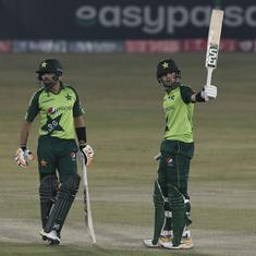 Second T20I: Haider Ali, Babar Azam star as Pakistan beat Zimbabwe by 8 wickets to clinch series