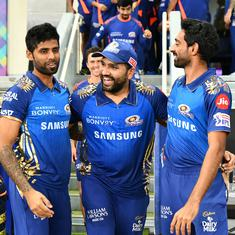 IPL 2020: Not the captain who'll run with a stick behind someone, says Rohit Sharma after MI's win