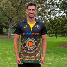 Australian men's team to wear jersey representing indigenous culture in T20I series against India