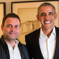 Rahul Gandhi is like student eager to impress but lacks aptitude, Barack Obama writes in new memoir