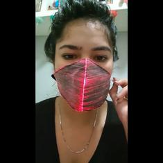 Watch: Ever wondered what a Diwali Covid-19 mask would look like?