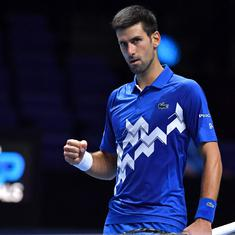 ATP Finals: Novak Djokovic keeps quest for sixth title alive, reaches SF by beating Sascha Zverev