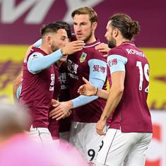 Premier League: Wood ends Burnley's wait for first win, Saints held by Wolves