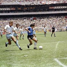Watch: Diego Maradona's 'Goal of the Century' against England in 1986 World Cup