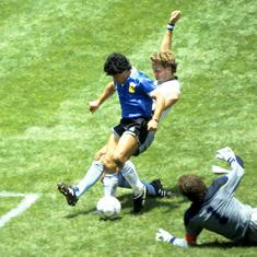 Pause, rewind, play: When Diego Maradona scored the goal of the century