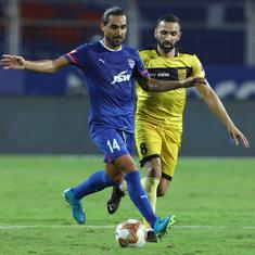 ISL highlights: Bengaluru FC remain winless after drab goalless draw against Hyderabad FC