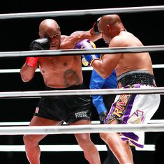 Boxing: Mike Tyson's comeback fight at 54 ends with draw against Roy Jones Jr. in exhibition bout