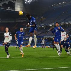 Premier League: Spurs go top after Chelsea stalemate, Wolves win at Arsenal despite Jimenez injury
