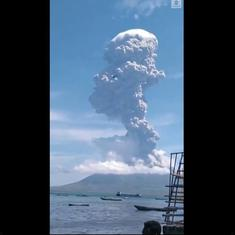 Watch: Indonesia's Mount Ile Lewotolok erupts, sends ash over 13,000 feet into the sky