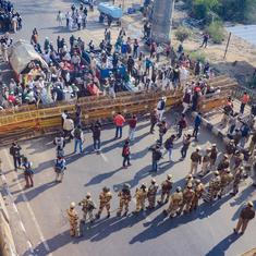 Farm laws: Barriers set up at Ghazipur, Delhi-Ghaziabad border as farmers vow to step up protests