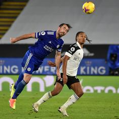 Premier League: Fulham shock Leicester to escape relegation zone, West Ham beat Villa to go fifth