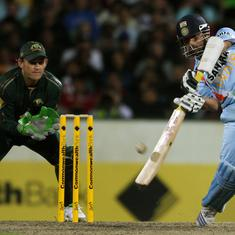 Pause, rewind, play: Tendulkar's superb ODI century in 2008 tri-series final – his first Down Under