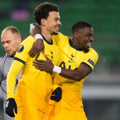 Europa League wrap: Spurs scrape through after 3-3 draw, Arsenal welcome fans back with a win