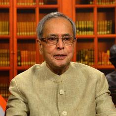 'India is not made of one language, one religion or one enemy,' says Pranab Mukherjee