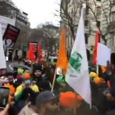 Watch: Protests in support of Indian farmers erupt in Canada, UK, Australia