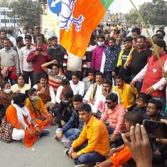 West Bengal: BJP alleges death of party worker after clash with police at Siliguri rally