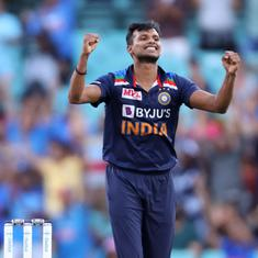 Australia vs India: T Natarajan replaces injured Umesh Yadav, Rohit Sharma named vice captain