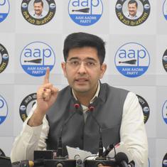 Coronavirus: AAP leader Raghav Chadha tests positive